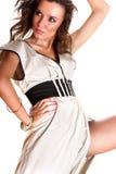 Bellezza stunning sexy del brunette Fotografia Stock