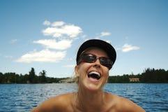 Bellezza sul lago Fotografia Stock Libera da Diritti