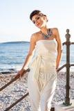 Bellezza sulla spiaggia immagine stock libera da diritti