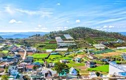 Bellezza sulle colline del plateau di Dalat Fotografia Stock Libera da Diritti