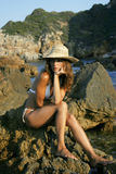 Bellezza sulle rocce Fotografia Stock Libera da Diritti