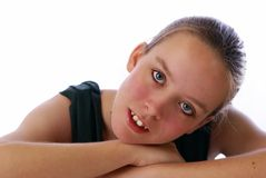 Bellezza teenager Fotografie Stock Libere da Diritti