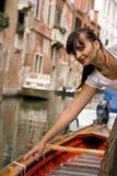 Bellezza a Venezia Immagini Stock