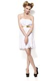 Bellezza in vestito. Fotografia Stock Libera da Diritti