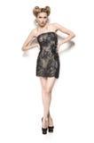 Bellezza in vestito. Immagine Stock