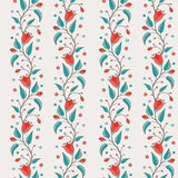 Bellflower floral element, wedding design, seamless pattern Royalty Free Stock Photography
