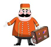 Bellhop Stock Photo
