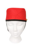 Bellhop Hat Isolated with a Clipping Path Royalty Free Stock Image