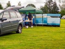 Bellingham camping Fotografia Stock