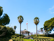 Bellini Garden in Catania city, Sicily Stock Photos
