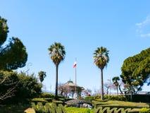 Bellini Garden in Catania city, Sicily Stock Photos