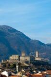 bellinzona Швейцария стоковая фотография