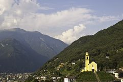 Bellinzona Royalty Free Stock Photography