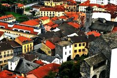 Bellinzona Fotografía de archivo libre de regalías