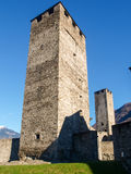 Bellinzona, Castle of Castelgrande Stock Photography