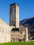 Bellinzona, Castle of Castelgrande Royalty Free Stock Photography