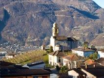 Bellinzona, the Church of Artore Royalty Free Stock Photo