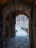 Bellinzona, Montebello Castle Royalty Free Stock Image
