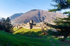 Bellinzona, Montebello Castle Royalty Free Stock Images