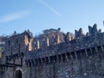 Bellinzona, Montebello Castle Royalty Free Stock Photo