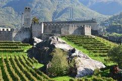 Bellinzona, Svizzera fotografie stock