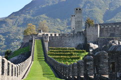 Bellinzona, Switzerland Stock Images