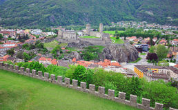 Bellinzona, Switzerland Stock Photos
