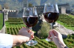 Bellinzona, Szwajcaria Zdjęcie Royalty Free