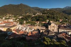 Bellinzona, Tessin, die Schweiz Stockfotografie