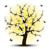 Bello albero di arte per il vostro Immagine Stock Libera da Diritti