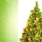 Bello albero di Natale Immagini Stock Libere da Diritti