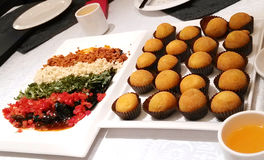 Bello alimento cinese Fotografie Stock Libere da Diritti