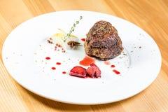 Bello alimento del ristorante Immagini Stock