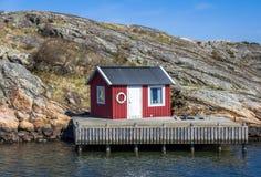 Bello arcipelago di Gothenburg - la Svezia fotografia stock libera da diritti