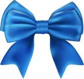 Bello arco blu isolato Fotografie Stock
