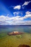 Bello atollo dell'oceano Immagini Stock Libere da Diritti