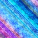 Bello backgro dell'acquerello della pittura di effetto viola blu di struttura Immagini Stock Libere da Diritti
