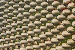 Bello balcone dell'hotel Fotografie Stock