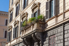 Bello balcone italiano Immagini Stock Libere da Diritti