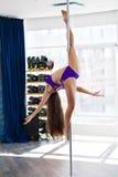 Bello ballerino del palo Immagine Stock Libera da Diritti