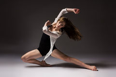 Bello ballerino femminile Fotografia Stock Libera da Diritti