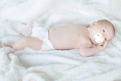 Bello bambino felice Fotografia Stock