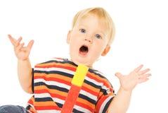 Bello bambino in giovane età Fotografia Stock Libera da Diritti