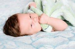 Bello bambino neonato Fotografia Stock