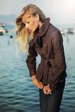 Bello blonde Immagini Stock Libere da Diritti
