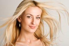 Bello blonde Fotografie Stock Libere da Diritti
