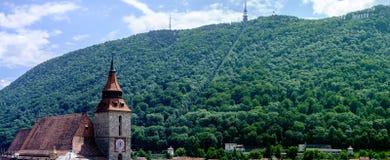 Bello Brasov Romania Immagini Stock
