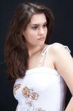 Bello brunette Immagini Stock