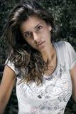 bello brunette Fotografia Stock