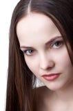 Bello brunette triste Fotografia Stock Libera da Diritti